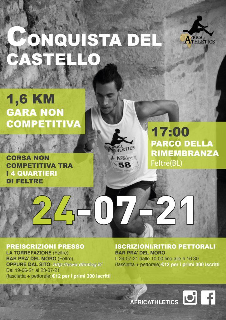 LA CONQUISTA DEL CASTELLO 24.07.21